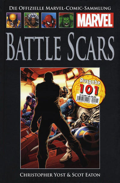 Cover for Die offizielle Marvel-Comic-Sammlung (Hachette [DE], 2013 series) #75 - Battle Scars