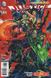 Cover for Justice League (DC, 2011 series) #7 [Second Printing]