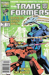 Cover for The Transformers (Marvel, 1984 series) #18 [Canadian]