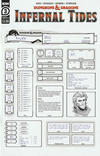 Cover Thumbnail for Dungeons & Dragons: Infernal Tides (2019 series) #3 [Cover B - Character Sheet]