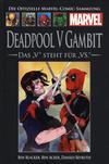 Cover for Die offizielle Marvel-Comic-Sammlung (Hachette [DE], 2013 series) #142 - Deadpool V Gambit