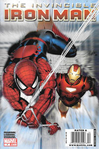 Cover Thumbnail for Invincible Iron Man (Marvel, 2008 series) #7 [Newsstand]