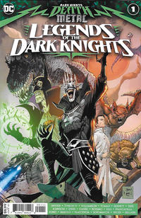 Cover Thumbnail for Dark Nights: Death Metal Legends of the Dark Knights (DC, 2020 series) #1 [Tony S. Daniel Cover]