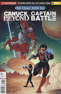 Cover Thumbnail for Chapterhouse Free Comic Book Day 2020 Featuring Canuck Beyond and Captain Battle (Chapterhouse Comics Group, 2020 series)