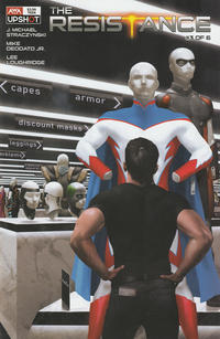 Cover for The Resistance (AWA Studios [Artists Writers & Artisans], 2020 series) #3