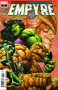 Cover Thumbnail for Empyre (Marvel, 2020 series) #4