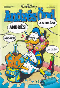 Cover Thumbnail for Andrés Önd (Edda, 2000 series) #9/2020