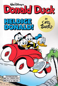Cover Thumbnail for Donald Duck av Carl Barks (Hjemmet / Egmont, 2020 series) #1 - Heldige Donald!