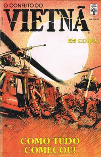 Cover Thumbnail for O Conflito do Vietnã (em Cores) (Editora Abril, 1990 series) #1