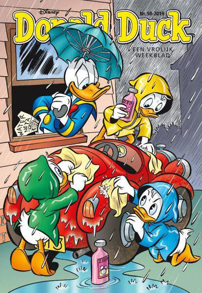 Cover for Donald Duck (Sanoma Uitgevers, 2002 series) #50/2019