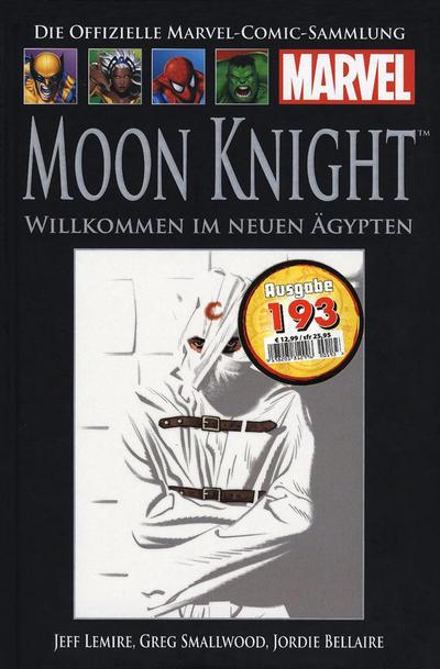 Cover for Die offizielle Marvel-Comic-Sammlung (Hachette [DE], 2013 series) #137 - Moon Knight: Willkommen im neuen Ägypten