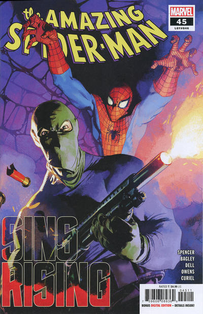 Cover for Amazing Spider-Man (Marvel, 2018 series) #45 (846) [Walmart Exclusive]