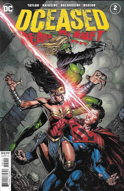 Cover for DCeased: Dead Planet (DC, 2020 series) #2 [David Finch Cover]