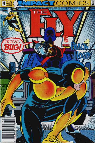 Cover for The Fly (DC, 1991 series) #4 [Direct]