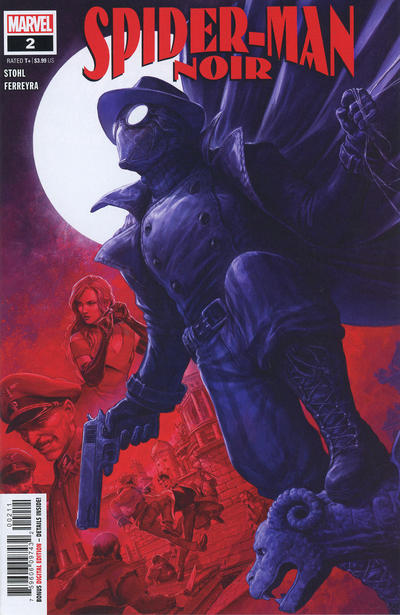 Cover for Spider-Man Noir (Marvel, 2020 series) #2