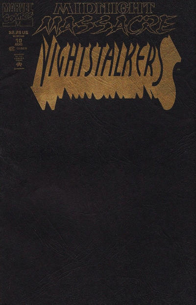 Cover for Nightstalkers (Marvel, 1992 series) #10 [Direct Edition]
