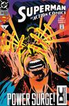 Cover Thumbnail for Action Comics (1938 series) #698 [DC Universe Corner Box]