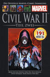 Cover for Die offizielle Marvel-Comic-Sammlung (Hachette [DE], 2013 series) #140 - Civil War II - Teil Zwei