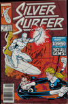 Cover for Silver Surfer (Marvel, 1987 series) #16 [Newsstand]