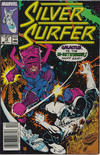 Cover for Silver Surfer (Marvel, 1987 series) #18 [Newsstand]