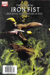 Cover Thumbnail for The Immortal Iron Fist: Orson Randall and the Green Mist of Death (2008 series) #1 [Newsstand]