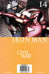 Cover Thumbnail for Iron Man (2005 series) #14 [Newsstand]