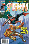 Cover for The Amazing Spider-Man (Marvel, 1999 series) #7 [Newsstand]