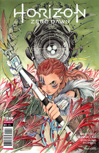 Cover Thumbnail for Horizon Zero Dawn (Titan, 2020 series) #1 [Cover E - Peach Momoko]