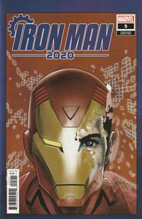 Cover Thumbnail for Iron Man 2020 (Marvel, 2020 series) #5 [Superlog]