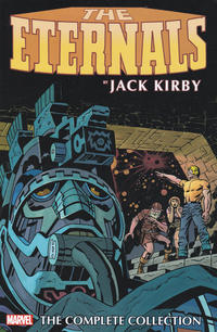 Cover Thumbnail for Eternals by Jack Kirby: The Complete Collection (Marvel, 2020 series)