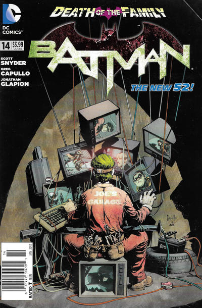 Cover for Batman (DC, 2011 series) #14 [Combo-Pack]
