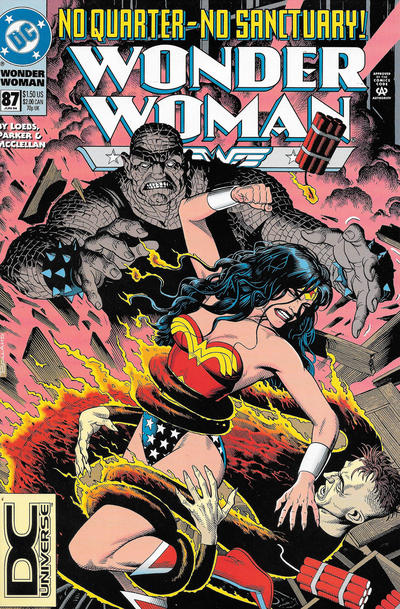 Cover for Wonder Woman (DC, 1987 series) #87 [Direct Sales]