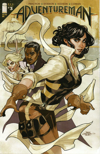 Cover for Adventureman (Image, 2020 series) #3