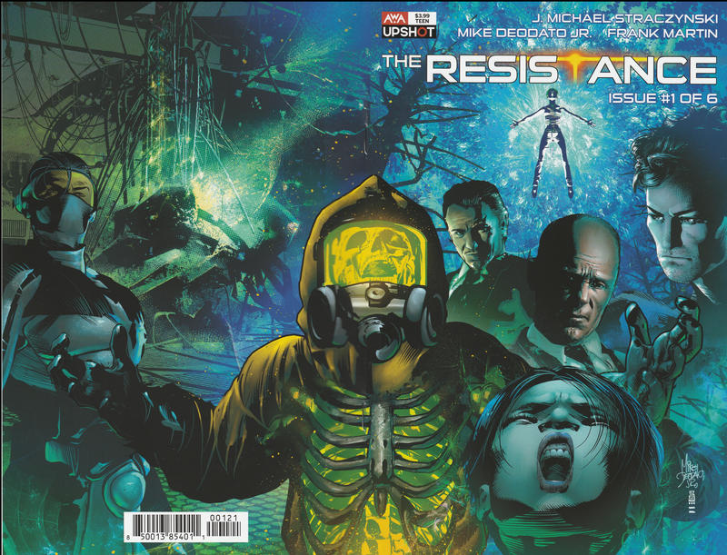 Cover for The Resistance (AWA Studios [Artists Writers & Artisans], 2020 series) #1 [Mike Deodato Jr.]