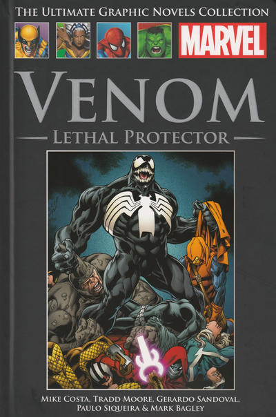 Cover for The Ultimate Graphic Novels Collection (Hachette Partworks, 2011 series) #189 - Venom: Lethal Protector