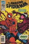 Cover for The Amazing Spider-Man Annual (Marvel, 1964 series) #28 [Newsstand]