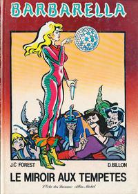 Cover Thumbnail for Barbarella (Albin Michel, 1982 series) #[4] - Le miroir aux tempêtes