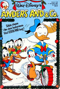 Cover Thumbnail for Anders And & Co. (Egmont, 1949 series) #51/1984