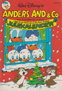 Cover for Anders And & Co. (Egmont, 1949 series) #48/1981
