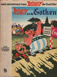 Cover Thumbnail for Asterix (Geïllustreerde Pers, 1966 series) #3 - Asterix en de Gothen