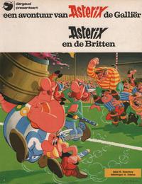 Cover Thumbnail for Asterix (Amsterdam Boek, 1970 series) #8 - Asterix en de Britten