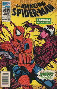 Cover Thumbnail for The Amazing Spider-Man Annual (Marvel, 1964 series) #28 [Newsstand]