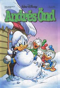 Cover Thumbnail for Andrés Önd (Edda, 2000 series) #2/2018