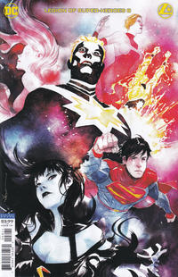 Cover Thumbnail for Legion of Super-Heroes (DC, 2020 series) #8 [Dustin Nguyen Cover]
