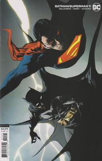 Cover Thumbnail for Batman / Superman (DC, 2019 series) #11 [Jae Lee Cardstock Variant Cover]
