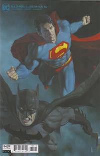 Cover Thumbnail for Batman / Superman (DC, 2019 series) #10 [Riccardo Federici Cardstock Variant Cover]