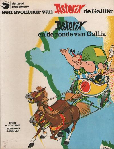 Cover for Asterix (Oberon; Dargaud Benelux, 1976 series) #5 - Asterix en de ronde van Gallia