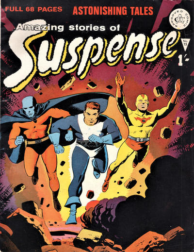 Cover for Amazing Stories of Suspense (Alan Class, 1963 series) #73