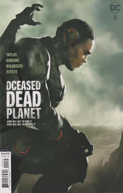 Cover for DCeased: Dead Planet (DC, 2020 series) #2 [Francesco Mattina Cardstock Variant Cover]