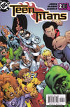 Cover for Teen Titans (DC, 2003 series) #2 [Second Printing]
